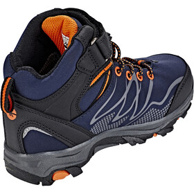 Hi-Tec Blackout Mid WP Lapset kengät , oranssi/sininen
